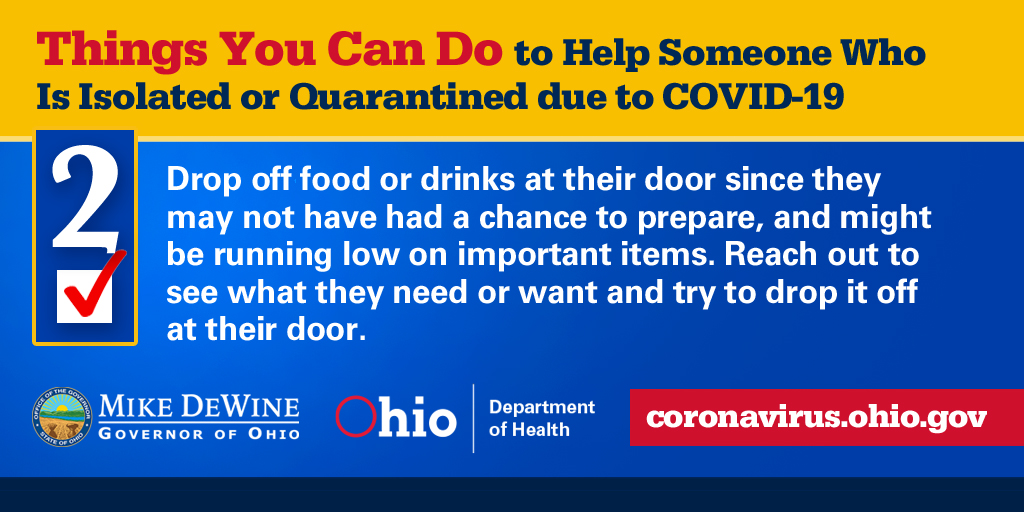 Things you can do to help! #InThisTogetherOhio