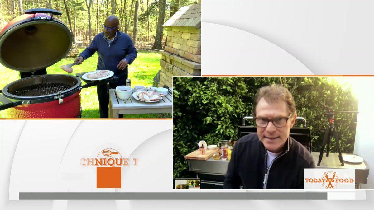 To prepare for a weekend of grilling, @alroker got some tips from fellow grill master @bflay!