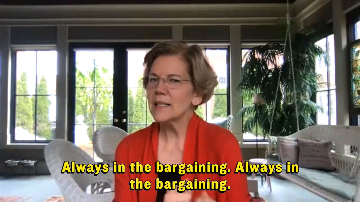 Trump thinks he's good at deals. @ewarren knows she is.