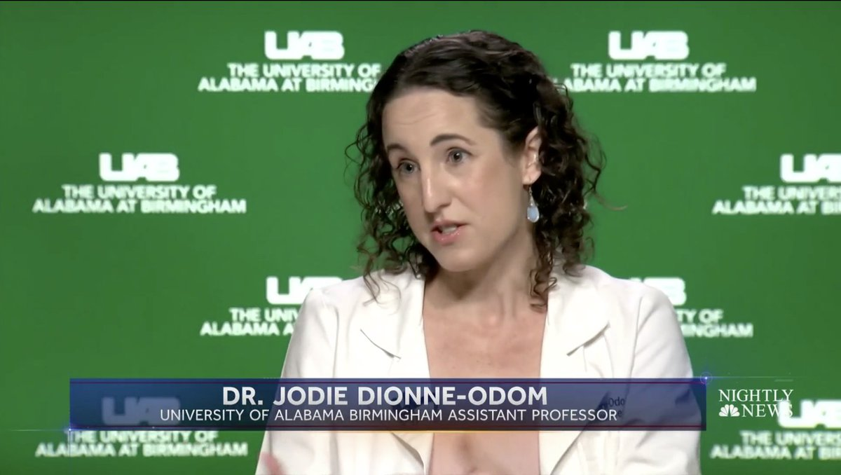 @KerryNBC spoke with @jodie_dionne on @NBCNightlyNews about the growing number of #Coronavirus outbreaks in the south. nbcnews.com/nightly-news/v… CC: @UAB_ID @UABSOM