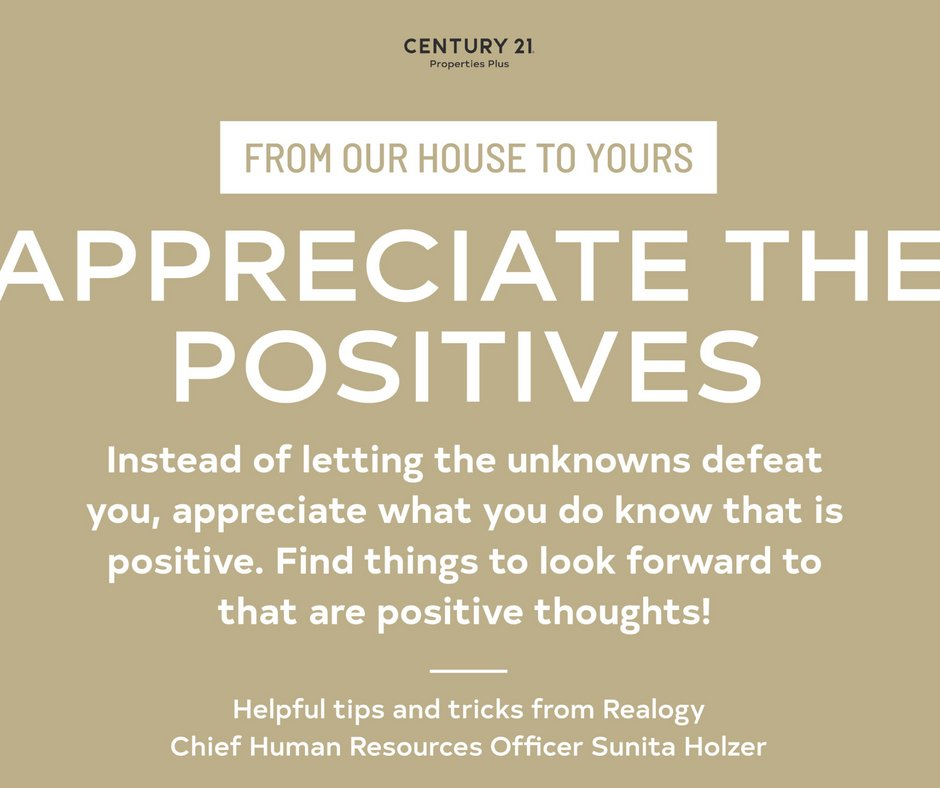 From our house to yours...let's be positive out there! Celebrate the wins and look back on how far you have  advanced towards your goals! #fromourhousetoyours #appreciatethepositives #charlestonrealestate https://t.co/GjamFOUUTO