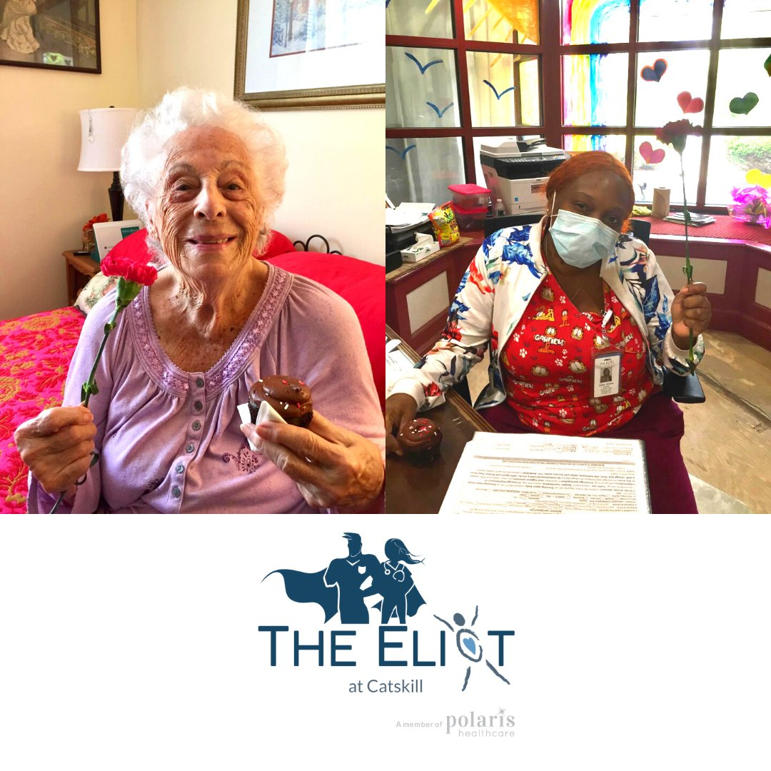 The Eliot staff and residents are like flowers; each one is beautiful and unique! That is why each staff member and resident had some beautiful roses delivered to their room.  #SpringIsHere #Flowers <br>http://pic.twitter.com/cIQYaLbFKO