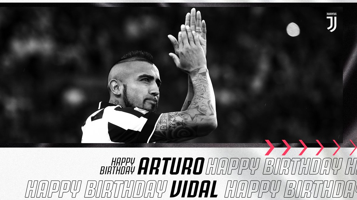 Happy 33rd birthday to the warrior that is, @kingarturo23!   #ForzaJuve pic.twitter.com/Ya6fLhv6pP