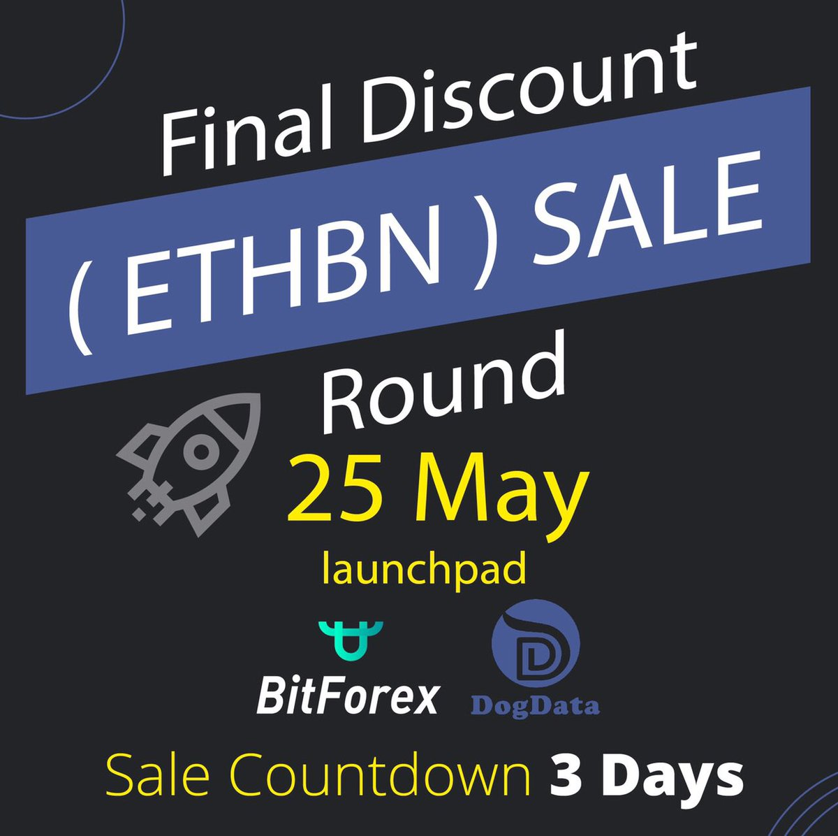fast  #Bitforex Registration  +1  new 24-36 hour easy  #KYC fast track  Bitforex   #EtherBone ( ETHBN )  #IEO ROUND #2  Final Discounted sale Round 25 May    $0.01   http://www. BitForex.com/en/register        https:// event.bitforex.com/en/ETHBN.html      http://www. MyDogData.com      #cryptonews<br>http://pic.twitter.com/XEUnegn4Nv