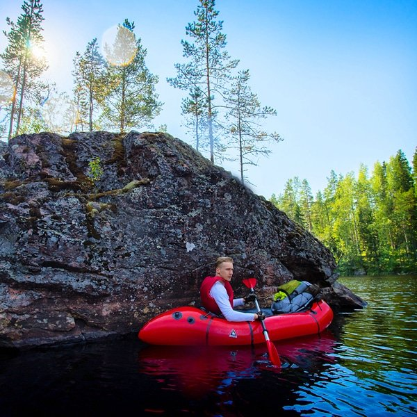 Have you tried packrafting yet? A fantastic way to experience the Finnish outdoors, with weekend tours Thursday-Sunday all the way until mid-October! naturetravels.co.uk/pack-rafting-f… #naturetravels #packrafting #microadventures