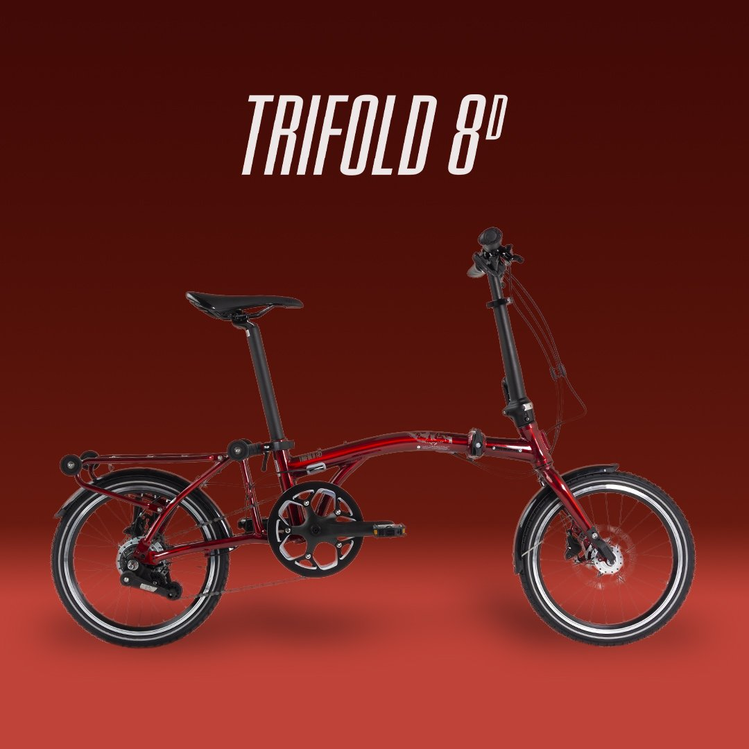 Lightweight, simple, portable and compact, Trifold 8D is an inspiration for stylistic smart living.  #unitedbike #trifold8dpic.twitter.com/Ttns0raVzt