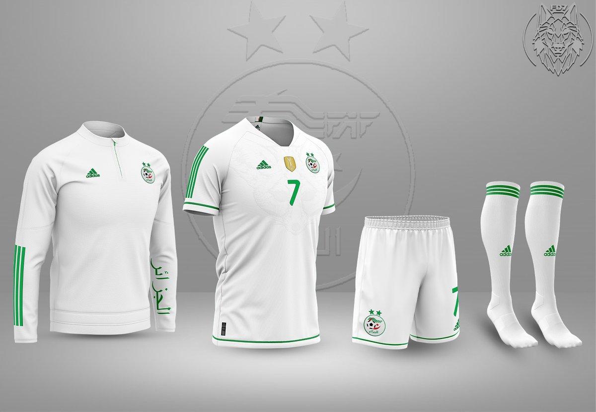 𝐀𝐥𝐠𝐞𝐫𝐢𝐞 𝐱 𝐀𝐝𝐢𝐝𝐚𝐬 | 𝐂𝐨𝐧𝐜𝐞𝐩𝐭𝐬 𝐤𝐢𝐭𝐬  #Algerie #Algeria #DZ #TahiaDjazair #LesVerts #Euro2020 #TeamDZ #LesFennecs #123VivaLAlgerie #Adidas #Mahrez #Slimani #Delort #Atal @Algeria_Tweet @ActuFoot_ @_BeFoot @Footy_Headlines @LMDFoot_ @Mahrez22 @AndyDelort9<br>http://pic.twitter.com/DbvgqSlXX5