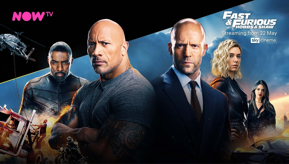 Fast & Furious Presents : Hobbs & Shaw, is available on our Cinema Pass today!  Want to know how you get NOW TV, check out our article in the link below 👇