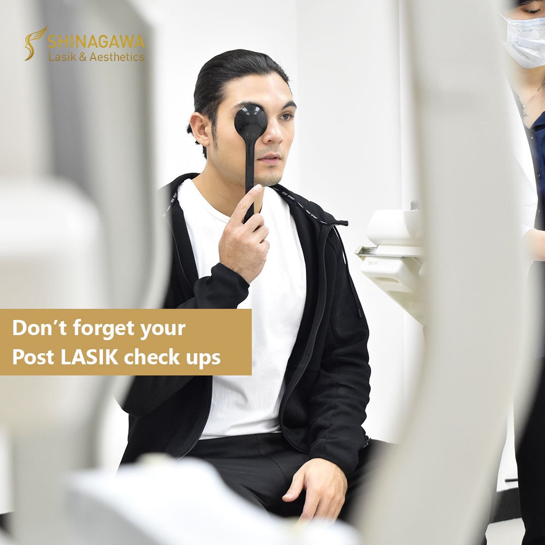 Your LASIK post-operation checkups are equally as important as the procedure itself! Let us make sure that your eyes and vision are well-maintained and in check. Our doctors would want to keep them healthy and bright.