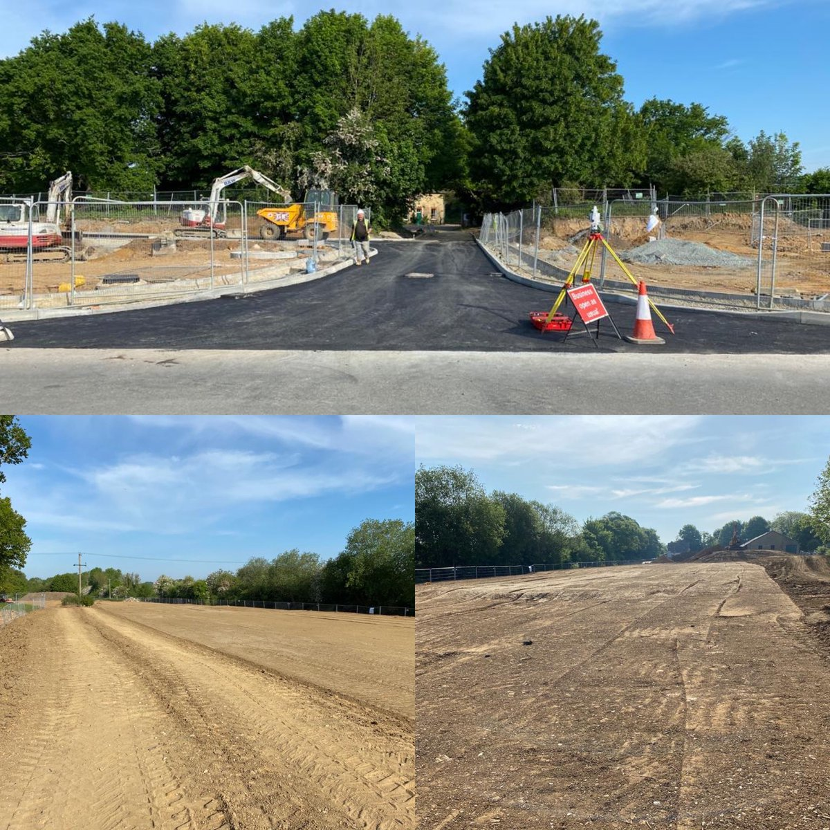 #fridaymotivation  Great work from our CORE team in Reepham near Norwich - the good weather is certainly helping us to make fantastic progress on site!  #CORE #infrastructure #civilengineering #SunnyDayspic.twitter.com/cq2cX8YjN1