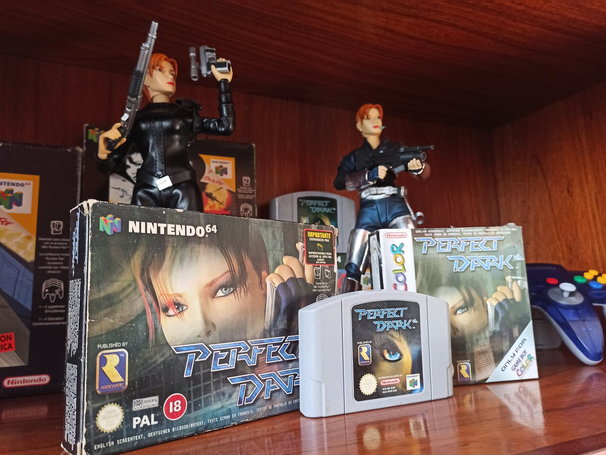 Today marks the 20th anniversary of Perfect Dark!  (June 30th for us in Europe)  Were you able to unlock all of its difficulties and cheats back then? #N64 #PerfectDark #Rare pic.twitter.com/b5sFyjOQjN