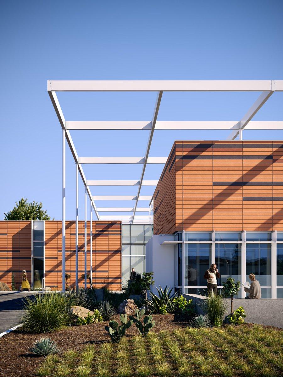 Palomar Community College District          location: San Diego County, California. visualization: Yan  Baev        #coronarenderer #architecture pic.twitter.com/QB7gbPJuKF