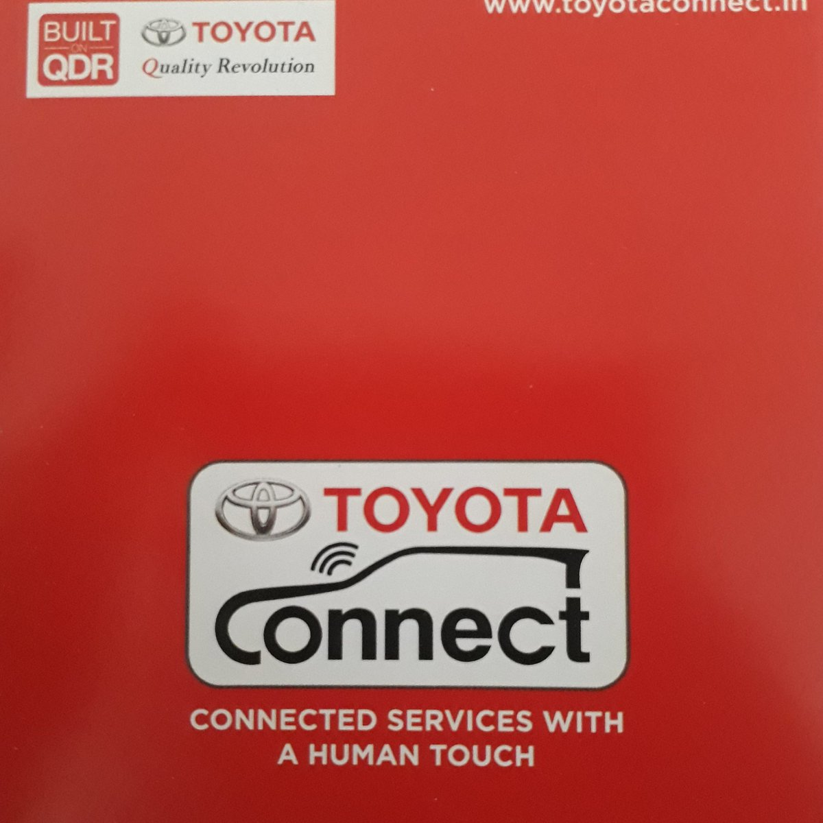#TOYOTA Connect  # Connected Services With A Human Touch pic.twitter.com/MsZdhJCPzX