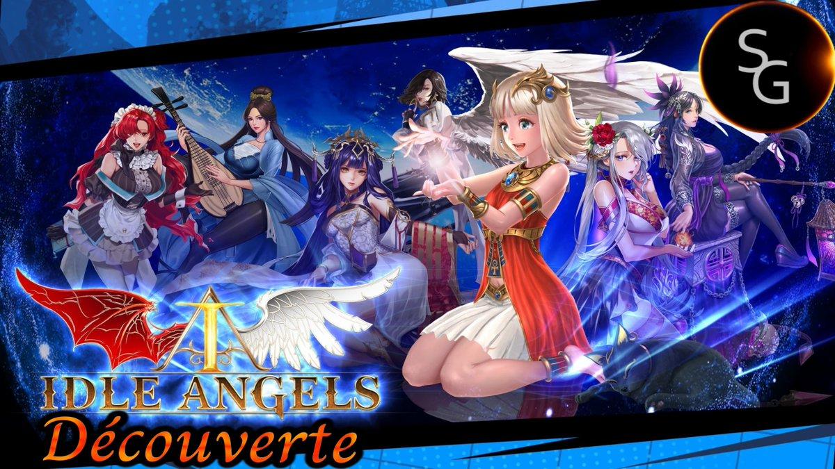 Gameplay / Découverte en français du jeu Idle Angels !   #Youtube #Gaming #JeuxVideo #Decouverte #Gamers #Gamer #Youtuber #YoutubeChannel #IdleAngels