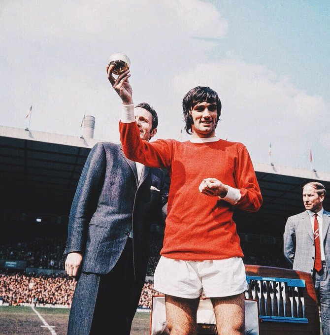 Happy birthday George Best!