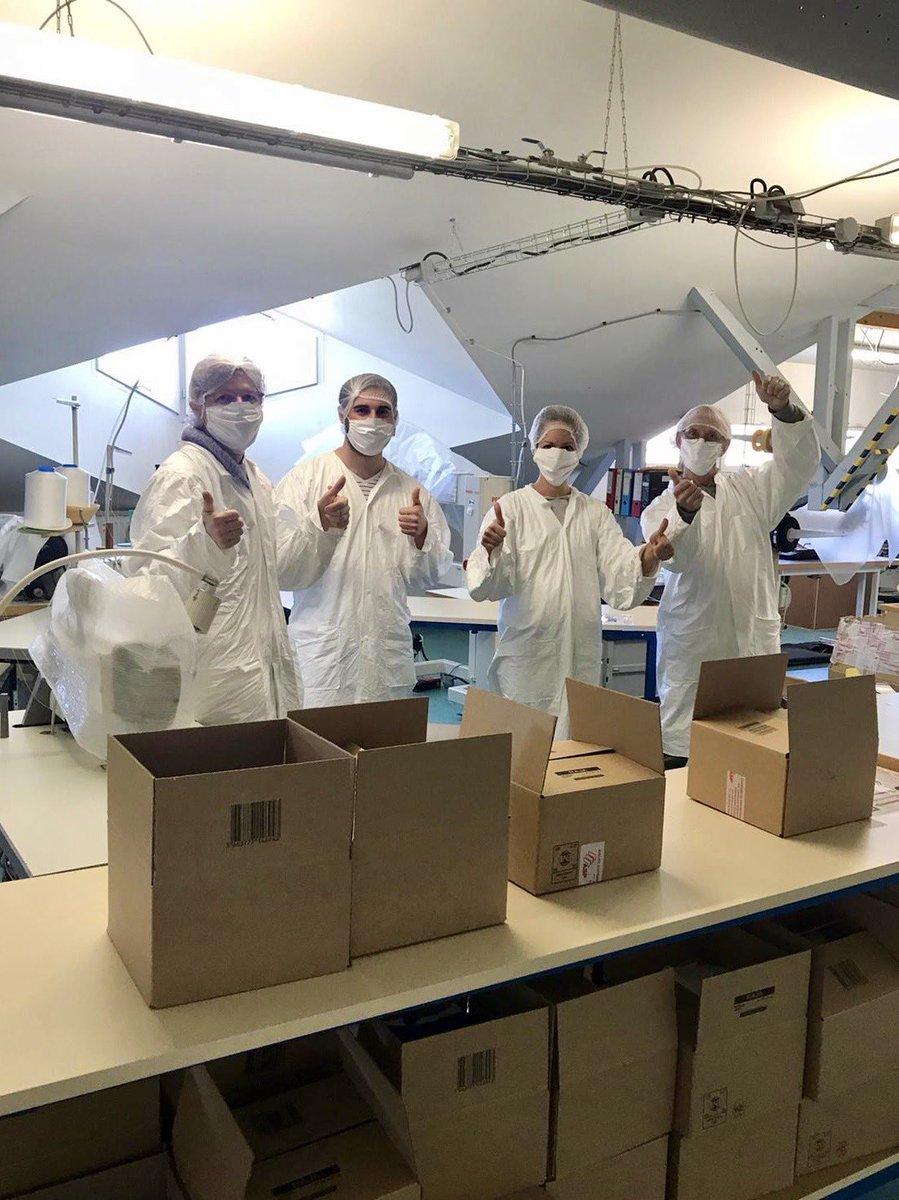 😷 Commandez vos #masques et EPI auprès de 86 #fournisseurs alsaciens !  La @ccialsace recueille quotidiennement des propositions commerciales de la part de fournisseurs ou fabricants d'EPI situés en #Alsace pour les publier sur son site. https://t.co/mqHMeEGFRH