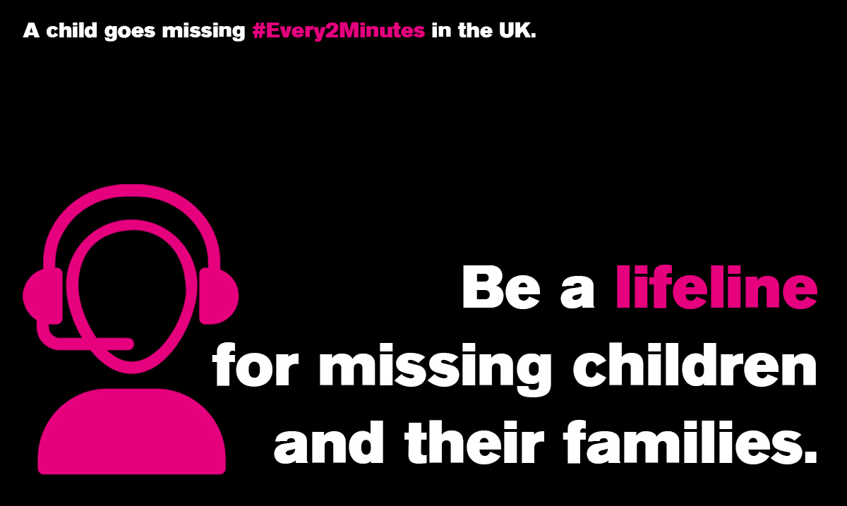 Did you know that a child is reported missing in the UK #Every2Minutes? @missingpeople is the only charity dedicating to reuniting missing children with their families. Please support them this #MissingChildrensDay. Visit missingpeople.org.uk/every2minutes