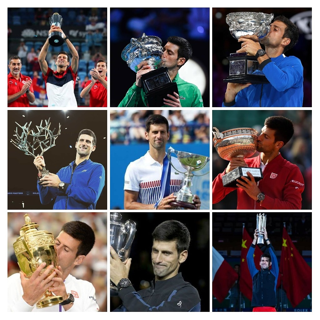 Happy 33rd Birthday to the World Number 1  , Novak Djokovic    The Serb\s biggest weapon is  ________