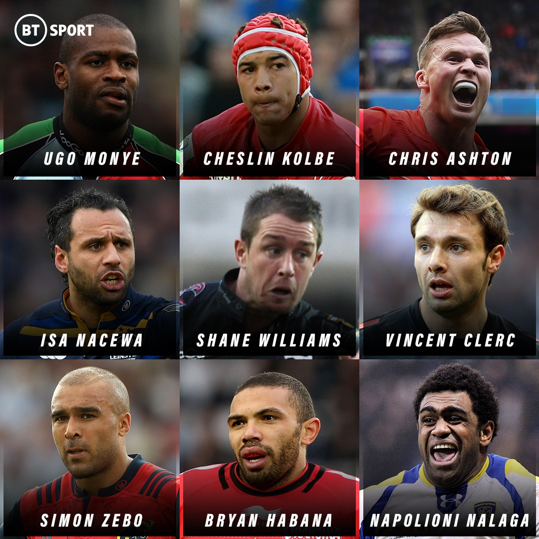 test Twitter Media - 9️⃣ great wingers, but you can only pick TWO!   Who do you go for? 🤔  📺 Heineken Champions Cup Day | Sunday 7am - 6pm | BT Sport 3 HD https://t.co/SmSGQHEUGJ