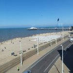 Sneak preview of Blackpool's first 5 Star hotel, @SandsVenue with a view from the suites, next to @TheBplTower, working closely with @FWPGroup @ShowtownBPL  #5starhotel #blackpool #verticalextension #loveconstruction