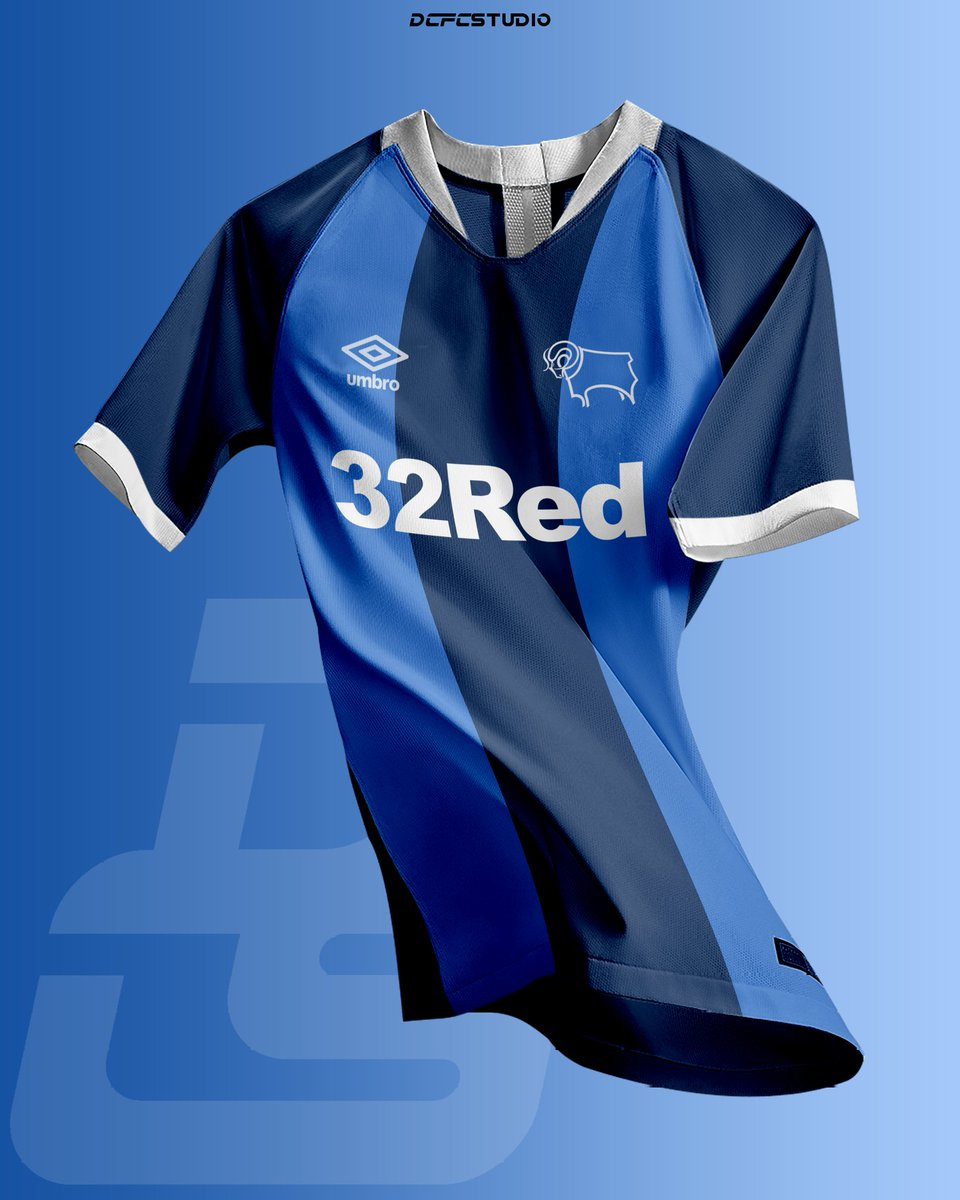 I was requested to recreate some classic away shirts with a modern feel. This includes my personal favourite, the 1985-86 away shirt. Let me know what you think! 🐏 #dcfc #dcfcfans