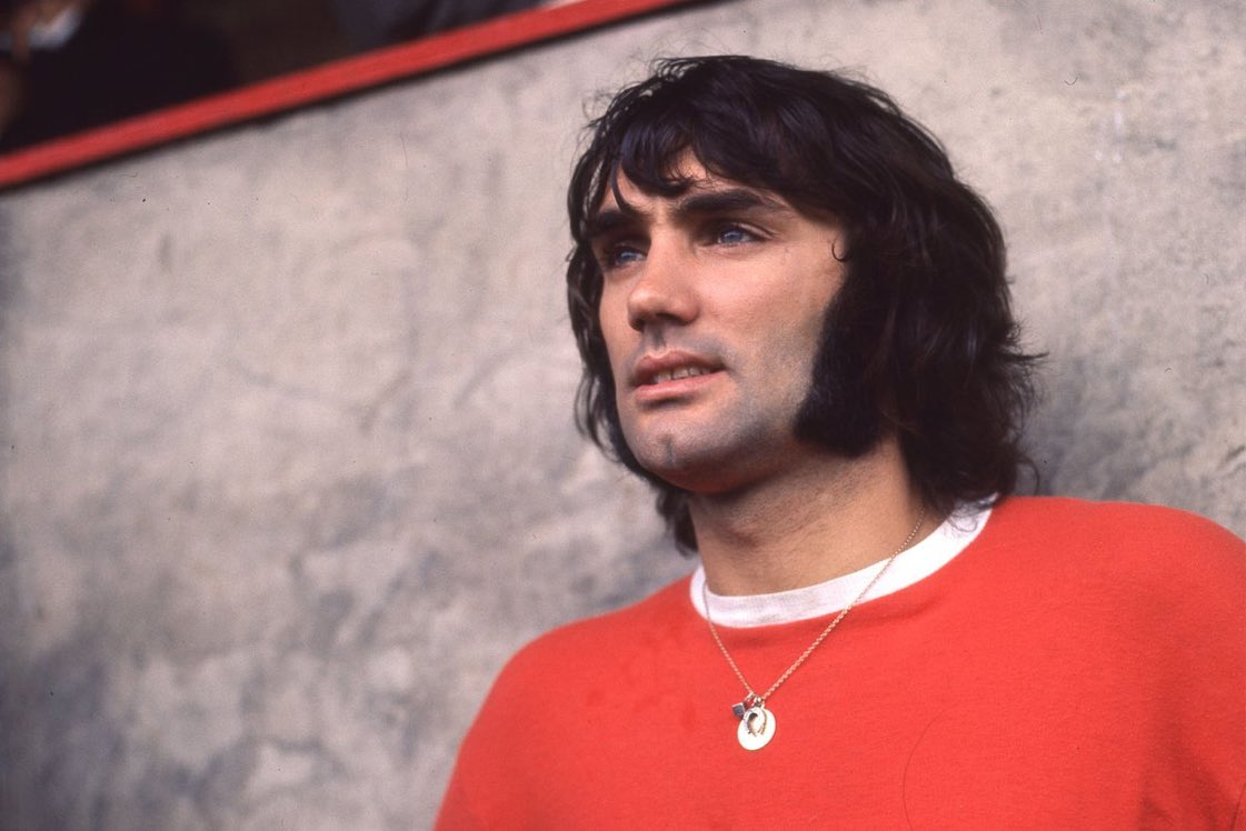 Happy Birthday George Best. One of the worlds greatest football players!