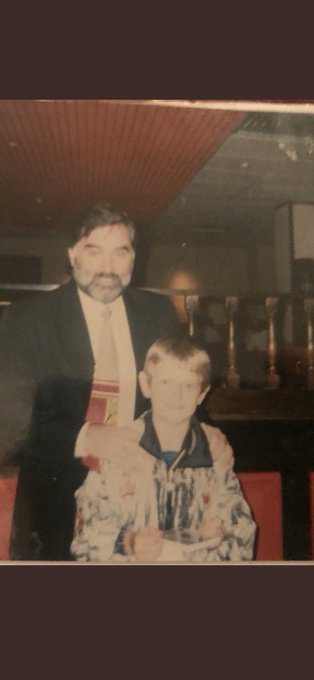 Lucky enough to have a meal with George best as a kid best day ever happy birthday