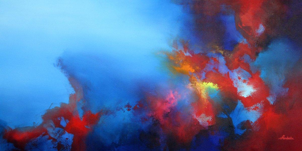"Hi there!  Meet ""We are ONE"" a stunning 150 x 70 cm acrylic painting.  #art #artist #weareone #colorful #artlife #abstractpainting #water #underwater #buyart #artforsale #wallart #inspirationpic.twitter.com/mdhVJSJaeg"