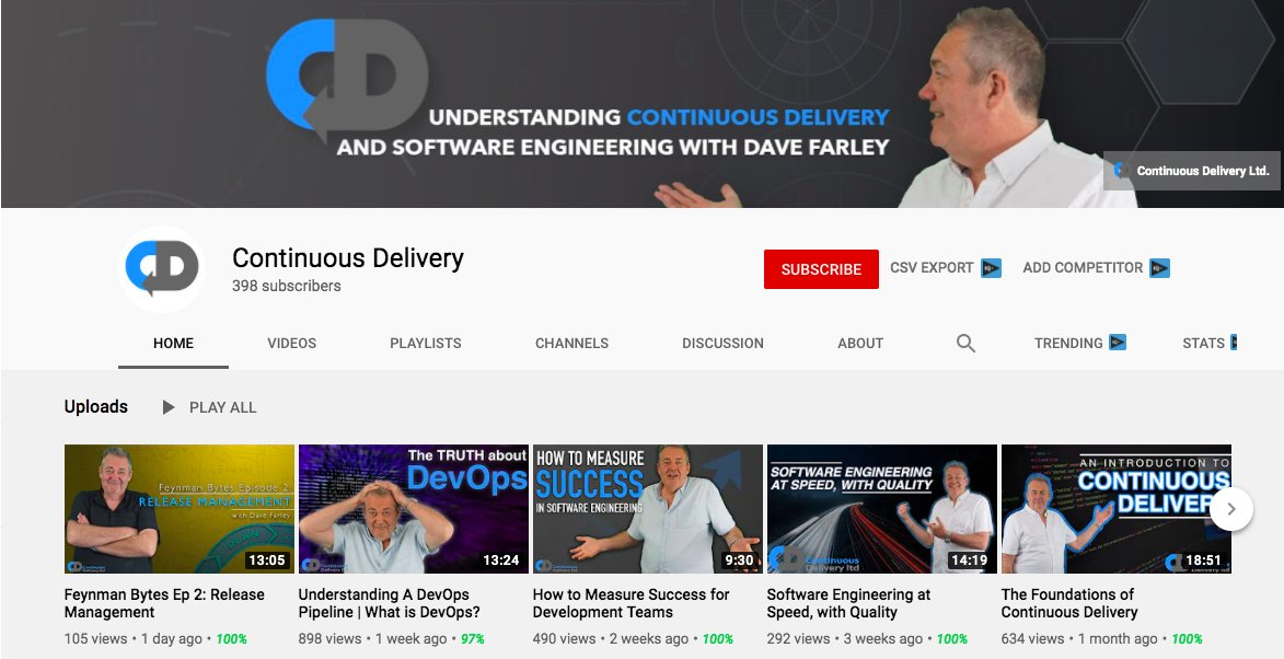 Were on the countdown to 500 SUBSCRIBERS on YouTube! 🤯 Thank you so much to everyone that has subscribed to my channel so far! If you havent yet, come and join us and lets make it to 500! ➡️ bit.ly/CDonYT #ContinuousDelivery #DevOps