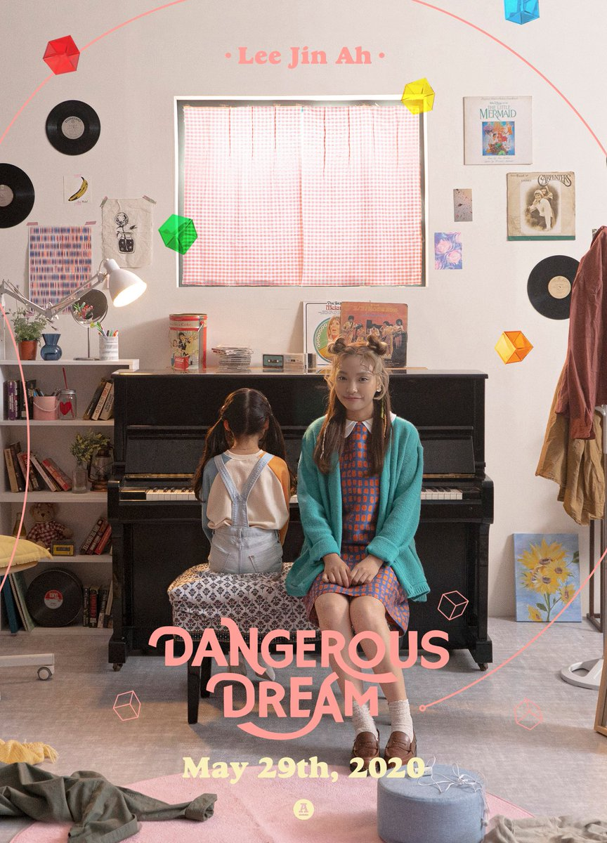 👧🏻💓 #이진아 Single < Dangerous Dream > 2020. 05. 29. 6PM Release #DangerousDream #LeeJinAh