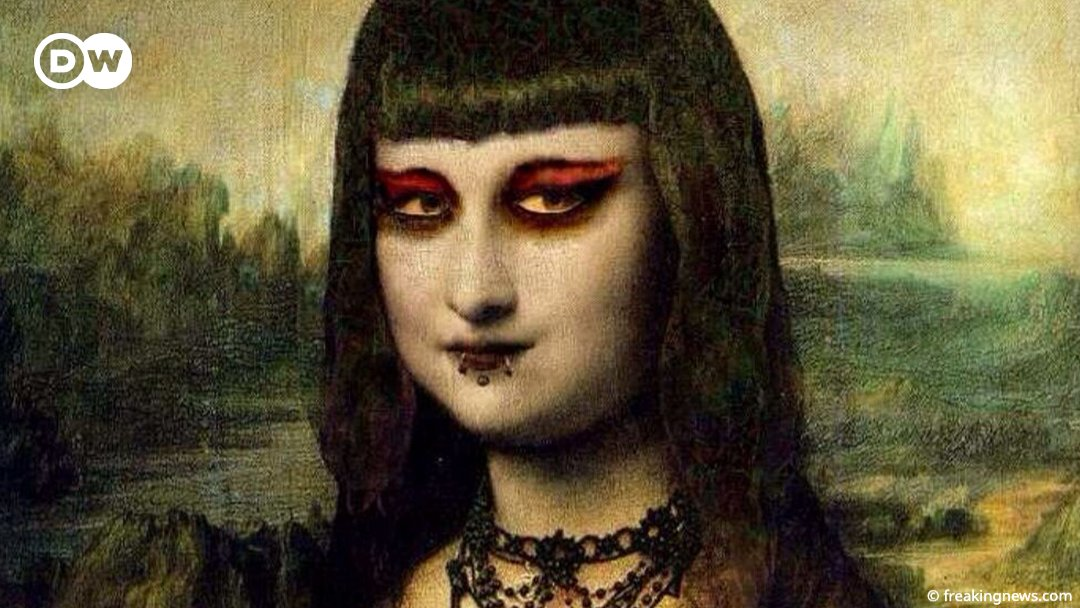 Today is #WorldGothDay! So wear your finest black and don't hold back with the eyeliner, either. Even the Mona Lisa couldn't resist 😉🖤 https://t.co/vK5tndbhqk