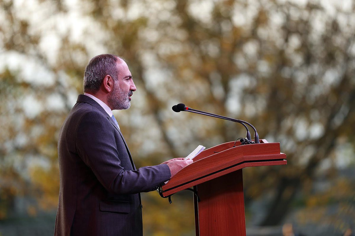 Our adherence to the principles and values of the #VelvetRevolution will inevitably lead to the de jure recognition of #Artsakh's self determination. https://t.co/ywTOqw9AbT