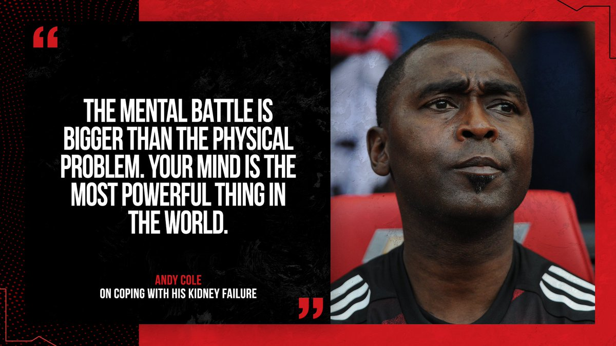 A poignant message from @VanCole9 🗣 #MUFC #MentalHealthAwarenessWeek