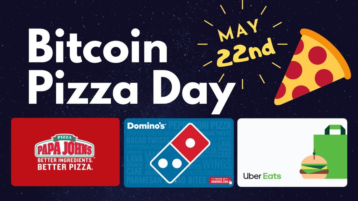 Happy #BitcoinPizzaDay ! Celebrate today by purchasing one of your favorite #giftcards in the @BitPay App with #crypto. Go to: https://t.co/dSDX0uYBZ8 for more details. https://t.co/tIrOi25aGK