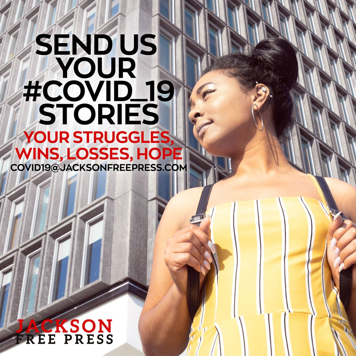 We'd like to know your #Covid19 stories. Email us at COVID19@JacksonFreePress.com. JFP has you covered. <br>http://pic.twitter.com/THIr9fcY9m