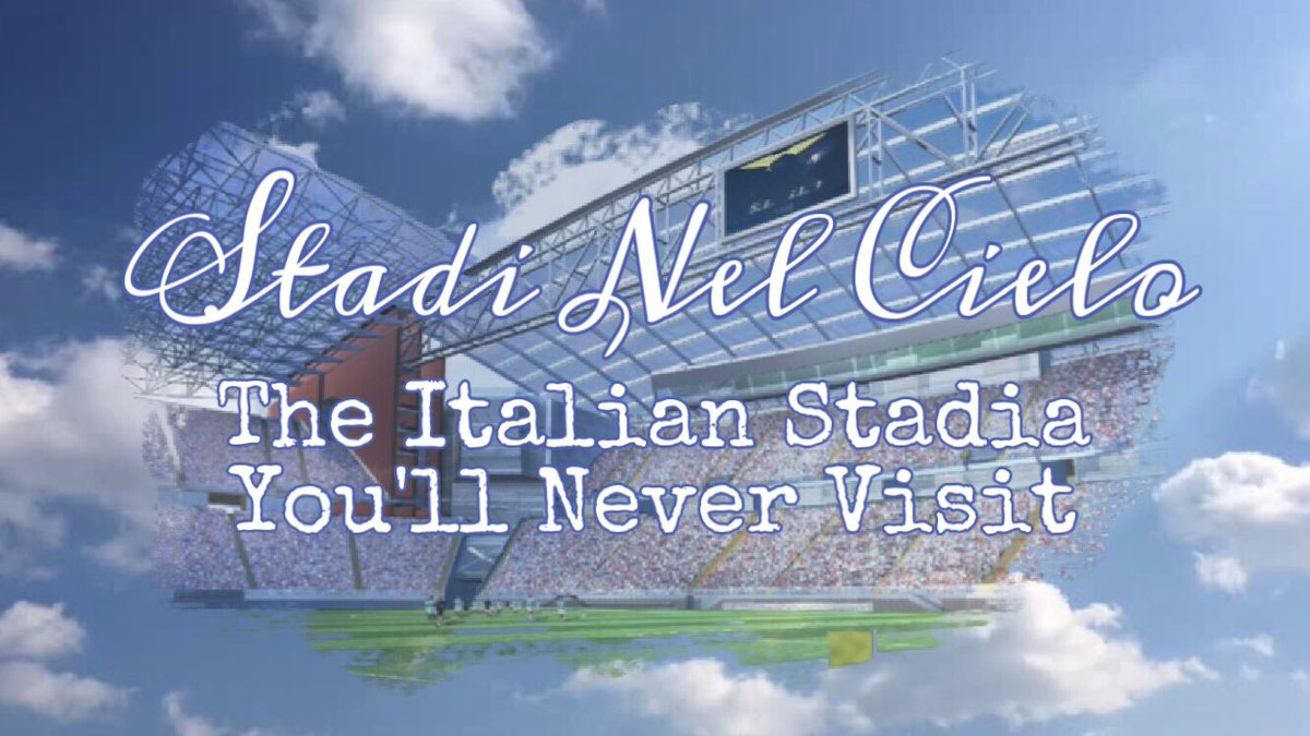 New article out tomorrow:  Stadi Nel Cielo | Stadiums In The Sky  Exploring the stories and designs of Italy's mythical stadia    #calcio #seriea #stadium #groundhopping #italypic.twitter.com/J5dZ8QZOkP