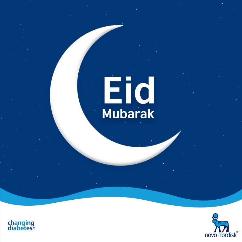 Novo Nordisk India wishes you all a healthy, happy and prosperous Eid! #EidMubarak #ChangingDiabetes
