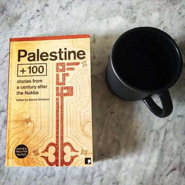 Join the @LdnReadsWorld Book Club for their next meeting (8/6) taking place via Zoom, where theyll be discussing our anthology Palestine +100: Stories from a century after the Nakba. DM them on Twitter @LdnReadsWorld to join! #PalestinianLit #Palestine #Nakba #sciencefiction