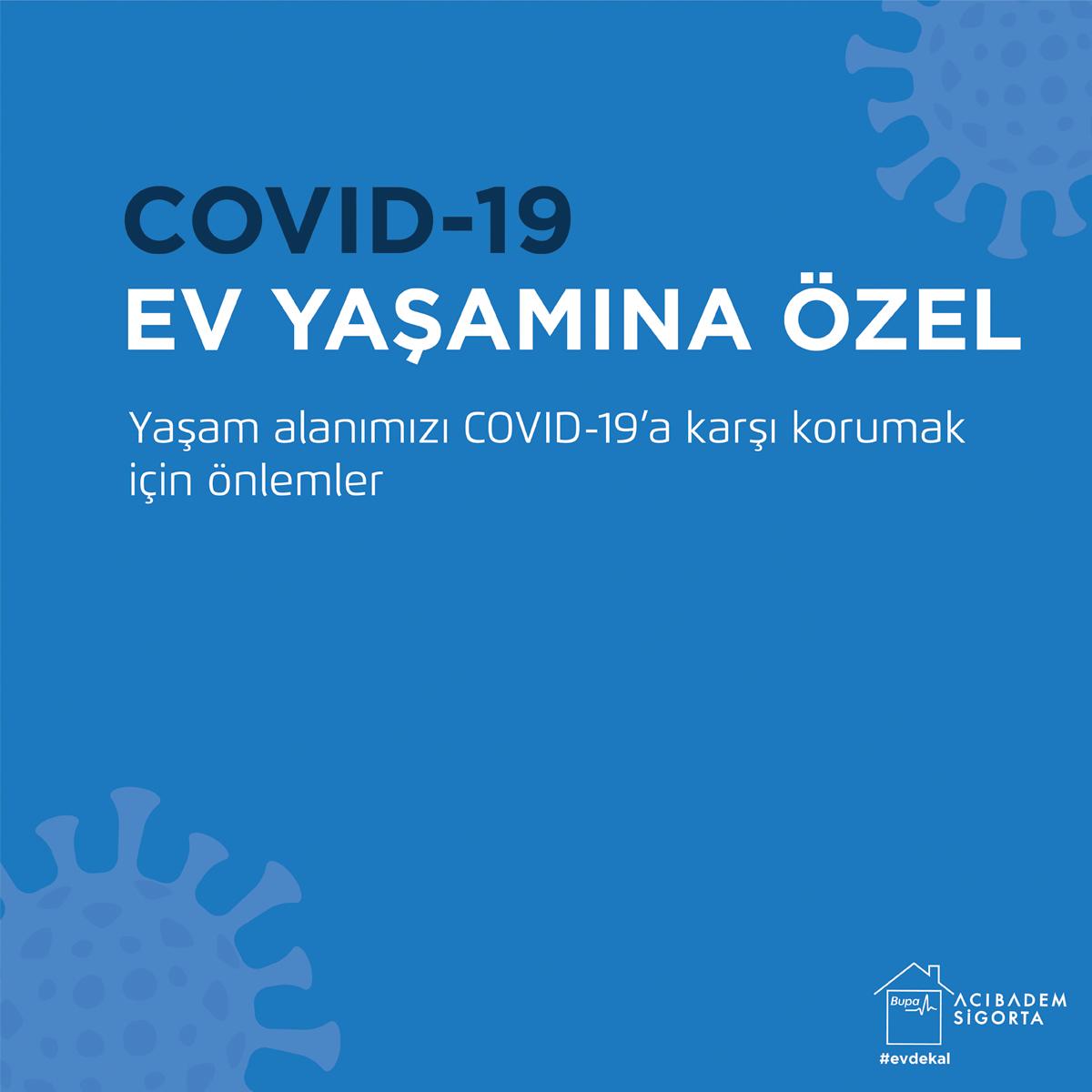 Yaşam alanımızı COVID-19'a karşı korumak için önlemler Sağı işaret etmek  #BupaAcıbademSigortaYanında #YanYanaOlmasakDaBeraberiz #EvdeKal #Covid_19 https://t.co/Pgr7CLZ7lH
