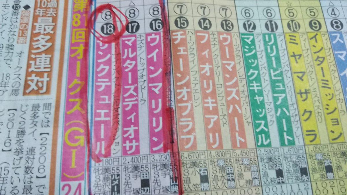 またしても 大好きで大注目のピンク帽8枠18番 エースナンバー18に 買いたかった美浦馬🐴が✨  エースナンバー18せがれより もうすぐ 金曜競馬クラブ始まりますよ~🎶  (*´∇`)ノ https://t.co/ph1OFXAHel