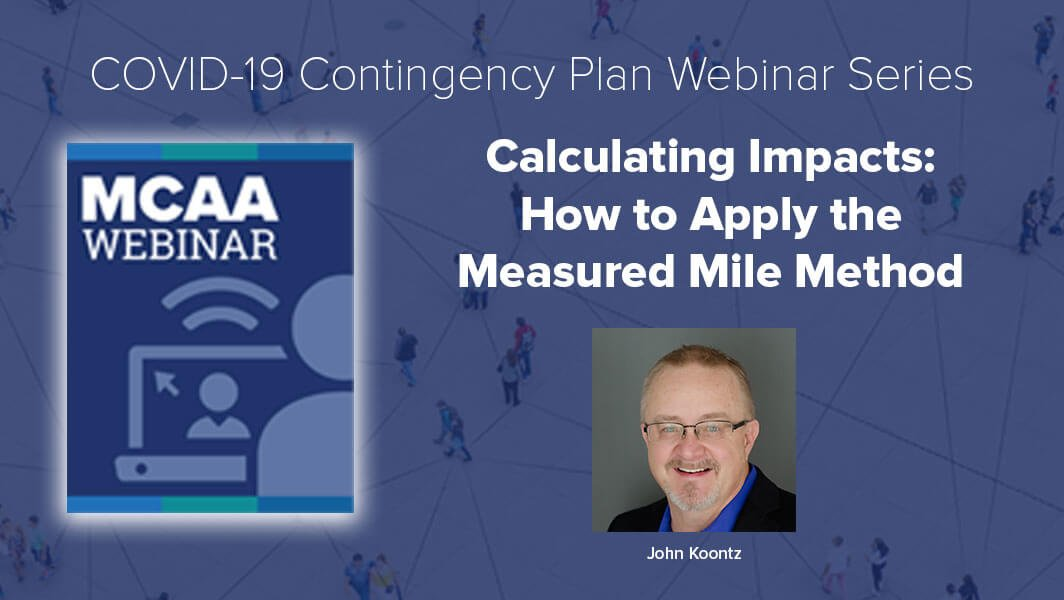 I can't say how important this is. A lot of people are trying to figure how much to charge for change orders but there is no silver bullet. You have to apply the measured mile method. Watch this webinar!
