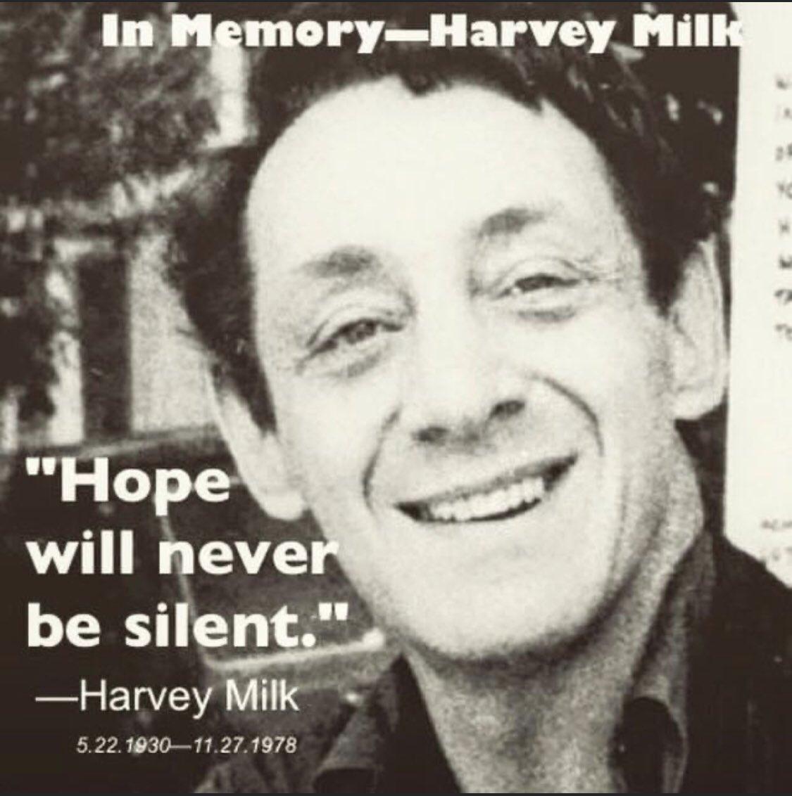 Happy Birthday Harvey Milk!