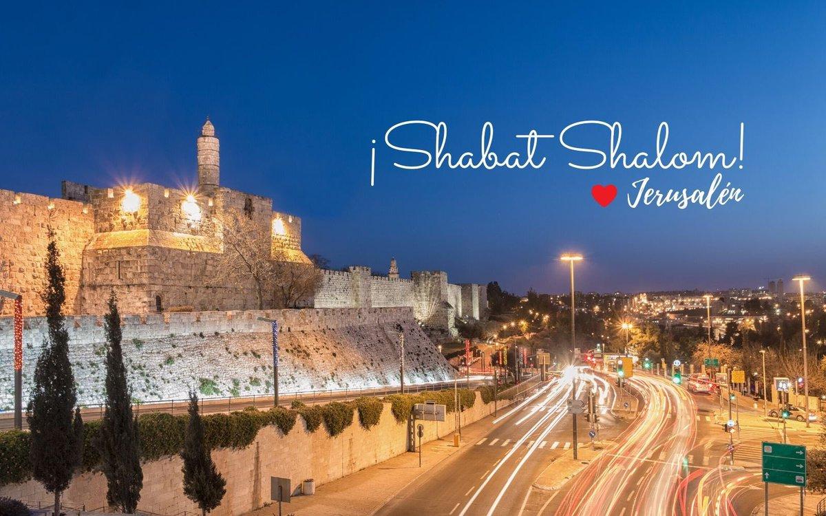 'A Jerusalén no se va, a Jerusalén se regresa' ¡Shabat Shalom!🇮🇱❤️