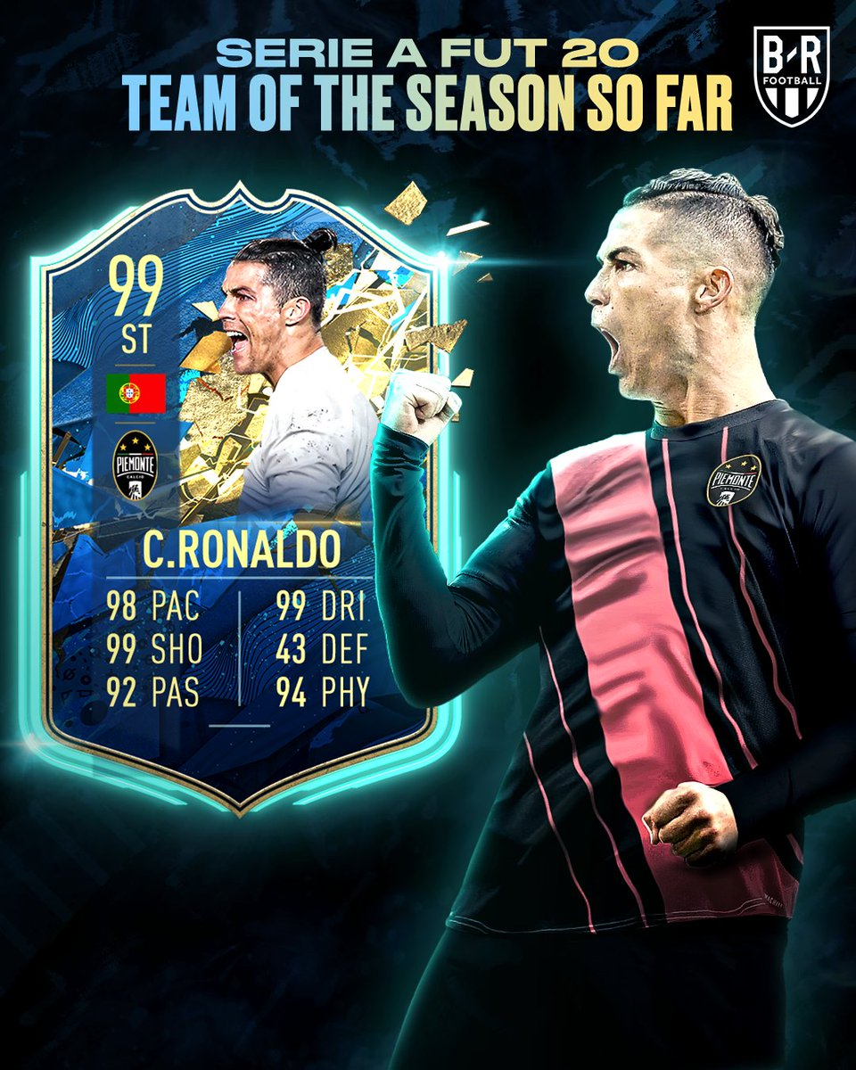 B R Football On Twitter This 99 Rated Cristiano Team Of The Season So Far Card Is Wild