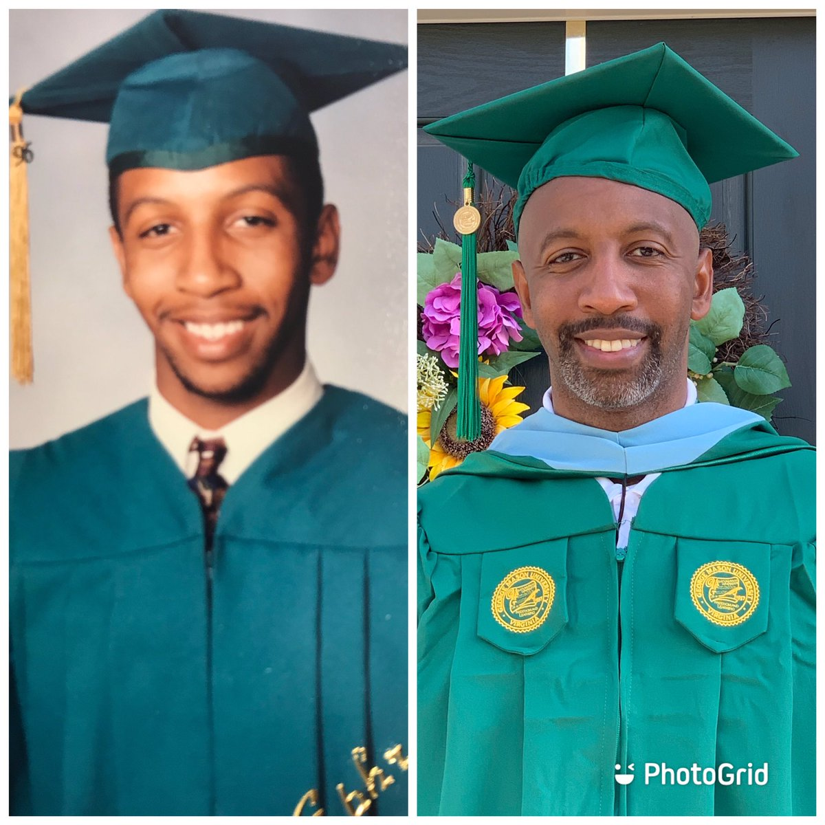 From the Class of 1996 to the Class of 2020!!! #Blessed pic.twitter.com/gDaxcengsP