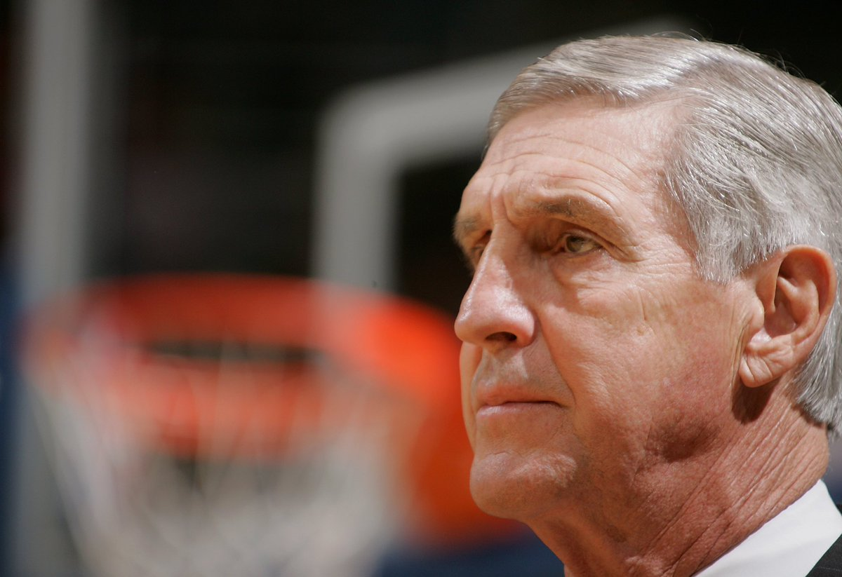 We join the entire NBA community in mourning the loss of Jerry Sloan.  Our thoughts and prayers are with the Sloan family and the Utah Jazz as we honor his legacy. https://t.co/K4XmrfxNJA