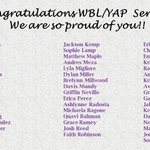 Image for the Tweet beginning: Congrats to my WBL/YAP 2020