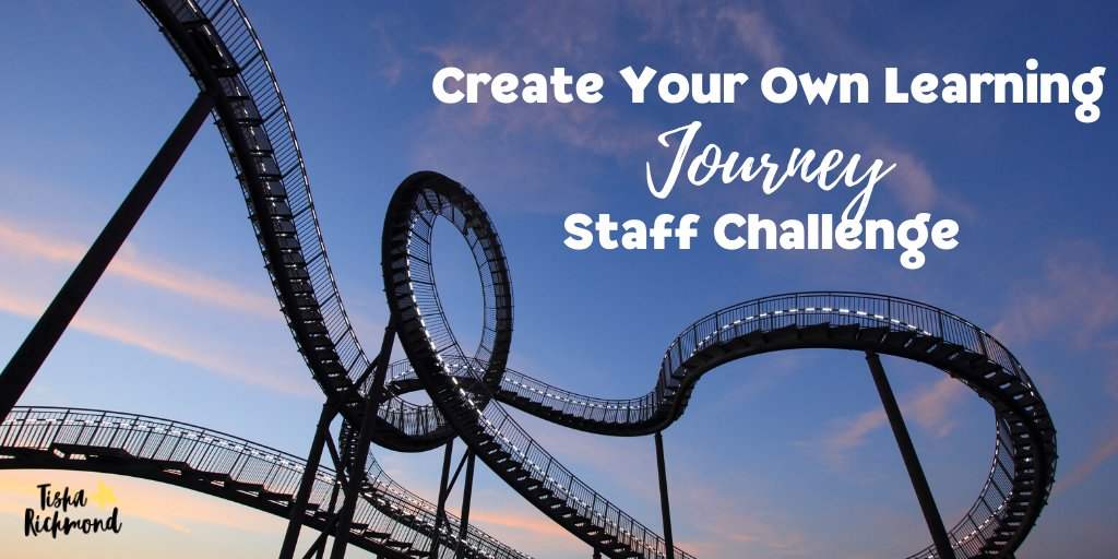 New Blog post!🎢✨ Looking for a way to bring a little fun, adventurous learning, self care, & reflection into the end of the school year and/or summer? Design a gamified staff challenge! Find out how here!👉tisharichmond.com/blog/create-yo… #MLmagical #TLAP #XPLAP #leadLAP