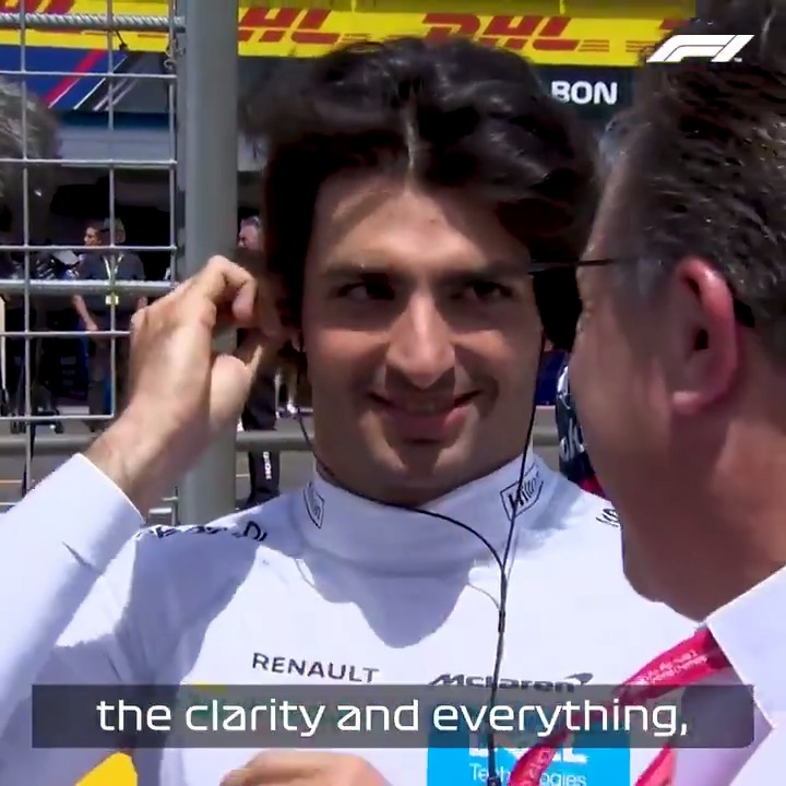 Image for the Tweet beginning: Disappointed, but understanding   @Carlossainz55's McLaren