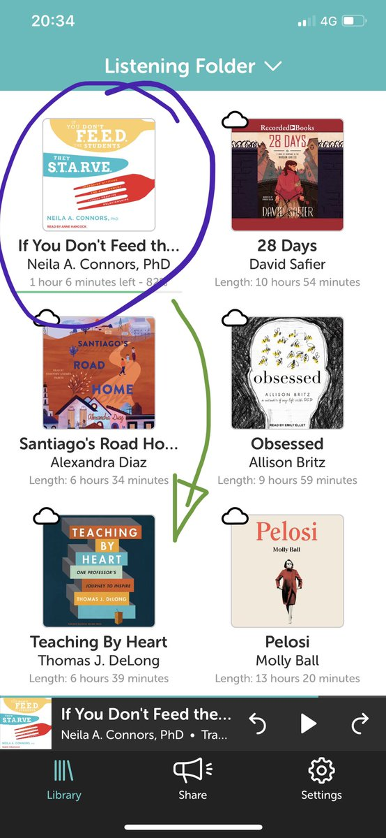 What are you currently #reading? 1. Listening ➡️ #IfYouDontFeedStudentsTheyStarve 2. Next ➡️ #Teaching by #Heart! #Thankyou @librofm for the #new #audiobook releases!🤩🔊📚💡🔥 #NeverStopLearning #ISTEcert #GrowthMindset #LeadByExample #Education #Read #ilovemyjob #grateful